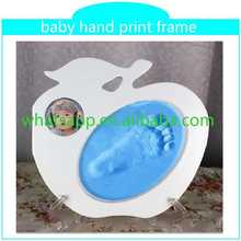 best selling handprint and footprint kit with frame metal sexy photo frame