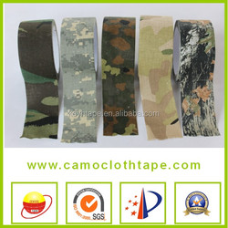 100% Cotton Wholesale Sports Camouflage Cloth Duct Tape With Our Own Popular Design From China 043