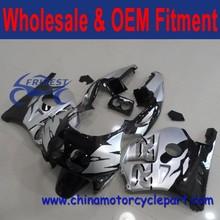 MC22 fairing kit body work for CBR250RR MC22 silver and black