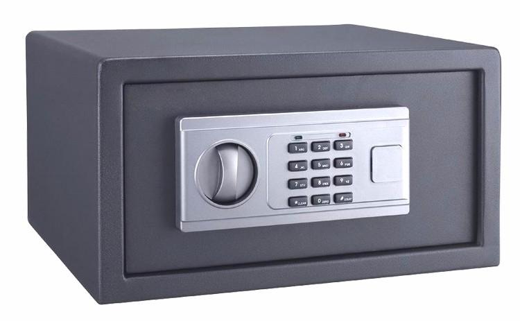 Гостиничный номер/пляж electornic смарт мини безопасности сейф с двумя ключевыми