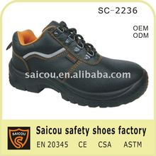 Guangzhou steel toe cap safety shoes factory (SC-2236)