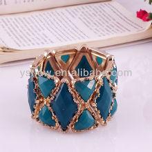 2013 de moda de diseño de moda brazalete de jade