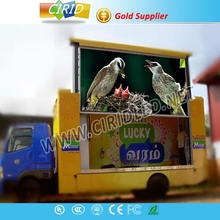 Professional Full color P6 P8 P10 P12 P 13.33 P16 outdoor truck mobile advertising led display