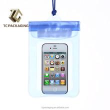 2015 Bulk handbags China PVC cell phone waterproof bag