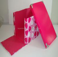 fashion design paperboard folding box