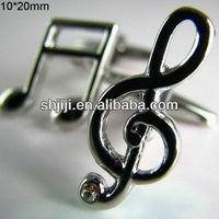 Fashional Musical Instrument Cufflinks