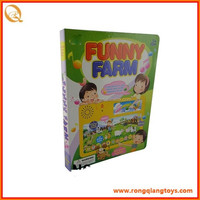 Kids early education English and Spanish touch and feel books ED83260615