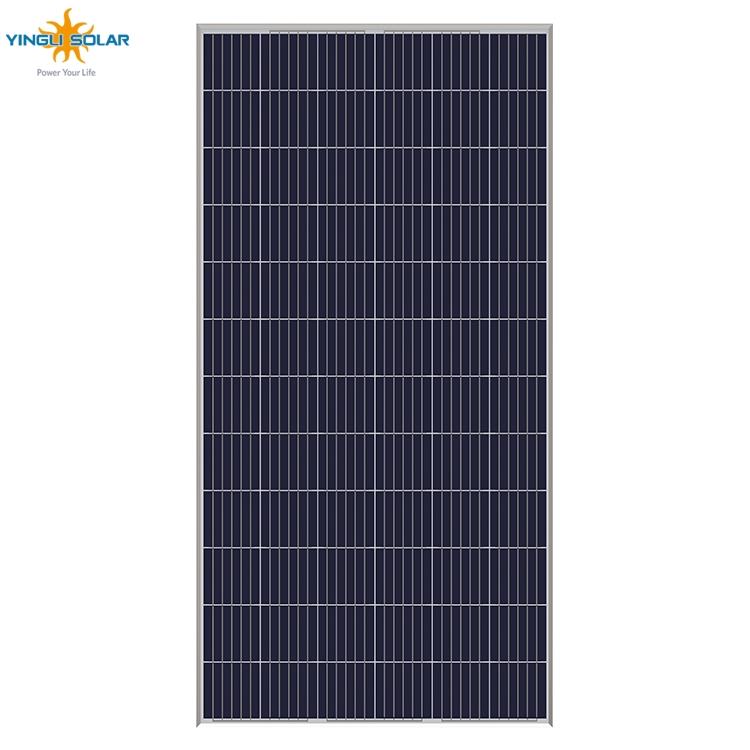 Cina fabbricazione PV pannello solare 300 w 320 w 325 watt 350 watt di efficienza del 40% piazza frameless poli pannello solare prezzo filippine