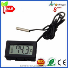 Alibaba Cn Small Accessories Mini Digital Lcd Thermometer With Waterproof Probe