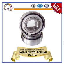 Square bore agricultural insert bearing 39602/F21 39602/F29 39602/F33 39602/F41
