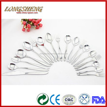 Sale of Good Quality Stainless Steel Cutlery C0301-C0318 Gold Plated Flatware