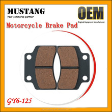 Brand New Motorcycle Front Brake Pads for Yamaha GY6-50 GY6-125 AG100 MIO Crypton
