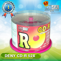 China supplier factory direct sale blank cd in cake box