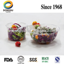 Clear PET plastic deli container/vegetable packaging box,First manufacturer of PET products in China, best supplier