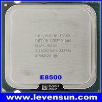Intel cpu E8500 3.16GHz 6MB SLAPK Core 2 Duo pull clean used cpu processor for desktop