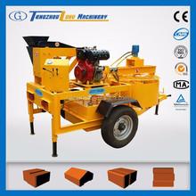 hydraform machine M7MI diesel engine block and brick making machine