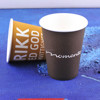 logo printed paper coffee cups with new paper