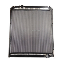 FAW J6 truck parts Cooling systerm aluminum radiator
