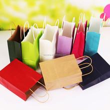 Eco-friendly Kraft paper bag shopping bag(CZ-877)