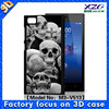 oem odm factory cell phone 3d cases for xiaomi redmi/custom case for micromax yu yureka