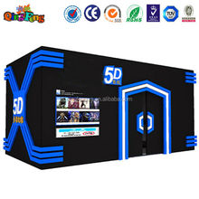 5D Theater 7D Cinema High Simulation HD 5D Cinema with 6,8,9,12 Seats For Sale