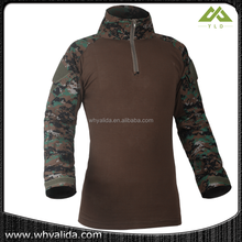 Tactical Combat Shirt 100%Cotton with spandex