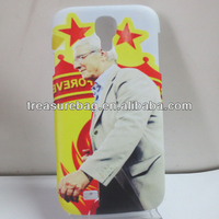 Blank Vacuum sublimation cell phone case for samsung galaxy S4