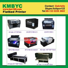 Digital pen printer , multicolor printing on the pen uv flatbed printing machine