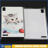 Custom design mobile phone PC case cover for huawei ascend p6 back cover case