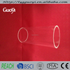 A variety of specifications of clear quartz tube,precision glass tubing
