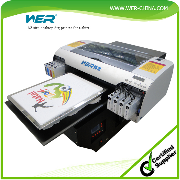 Hot selling a2 wer d4880t size white and dark t shirt for T shirt printing machine suppliers