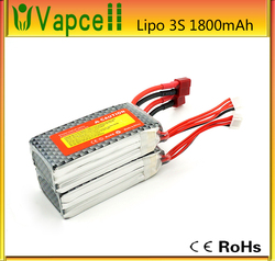 2015 NEWEST lipo 3S rechargeable battery pack 11.1V 1800mah for rc helicopter
