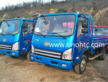 2015 trending! Tiger V 4x2 3 ton chinese mini FAW trucks