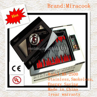 Miracook 2014 the best Stove for BBQ,Commercial Stove for BBQ/1year warranty/ CE,UL/Stove for BBQ restaruant