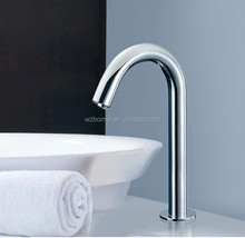wholesale price single cold automatic faucet , 304 stainless steel faucet with sensor , three size for you choosing