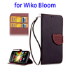 cellphone mobile accessories wallet flip case for Wiko Bloom