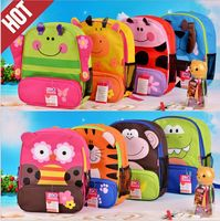 Zoo Packs Little Kid animal Backpacks bag for kindergarten children
