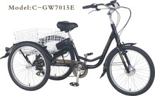 2015 3 wheel electric adult bicycle