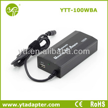 100w laptop universal adaptor with USB charger