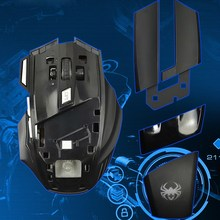 Wholesale price 6 buttons gaming mouse custom high tech siberian mouse cool style