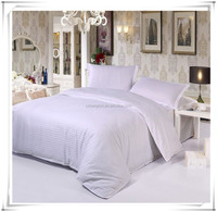 100% polyester dyed fabric for making hotel bed sheet\bedding set