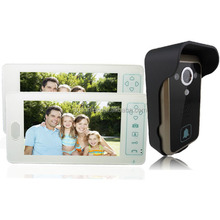 2.4G Wireless Visual Camera Doorbell Security Systems with Rain Cover