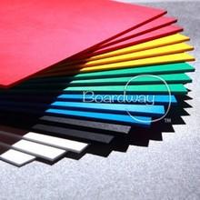 Hot sale good rigidity hight glossy waterproof palight pvc sheet for POP