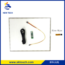 Film to Glass monitor touch screen / Flat screen resistive touch screen
