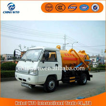 2015 new products HYS5045GXWB Foton 4x2 small vacuum sewage suction truck/street cleaning truck/vacuum truck sale