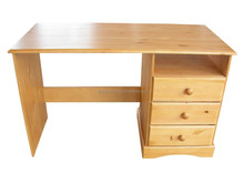 computer table picture office furniture design pine soild wood HJE-1001