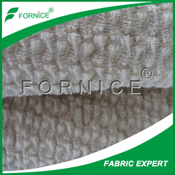 golden supplier super soft fabric 100%polyester bonded weft knitted velvet for sofa Spain market