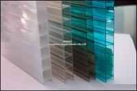 Aomijia Good Quality Precios Transparente Polycarbonate Alveolar Hollow Sheet