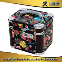 Hot high quality aluminium multi-functional makeup code case, fashion style jewelry case, boutique storage case