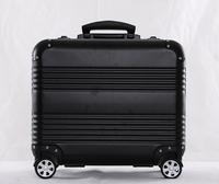 "Cheap 18"" Small Black Aluminum Suitcase Case Manufacturers"